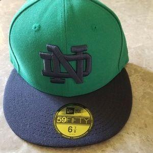 Notre Dame Fighting Iris New Era Hat